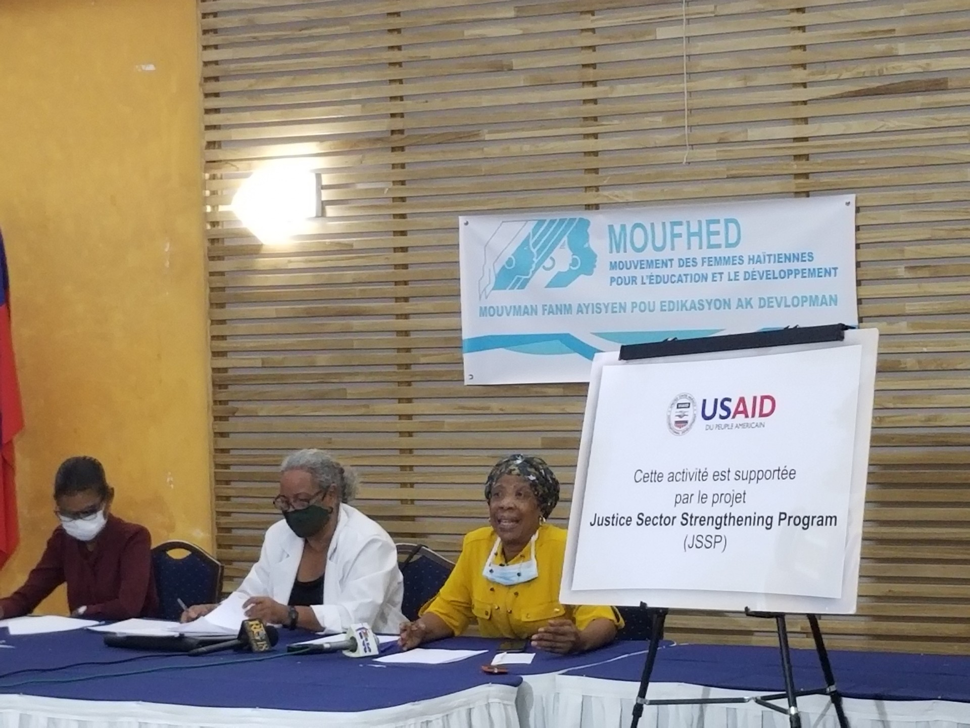 Conférence de Presse_MOUFHED/JSSP